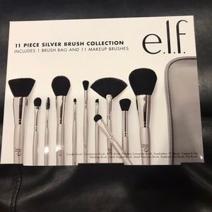 Elf cosmetic 11 piece brush set. New in box